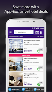 LateRooms: Find Hotel Deals screenshot 1