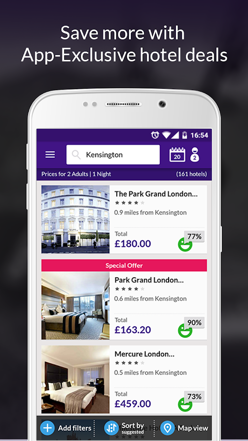 Laterooms Find Hotel Deals Screenshot