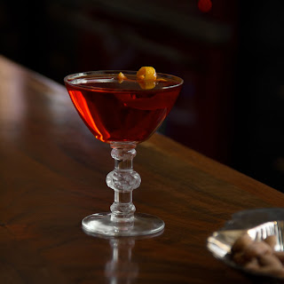The Fourth Regiment Cocktail.
