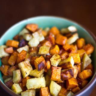Roasted Sweet Potatoes with Garam Masala