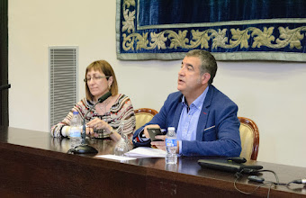 Photo: Lola Gadea and Antonio Montañés (WTSE meeting)