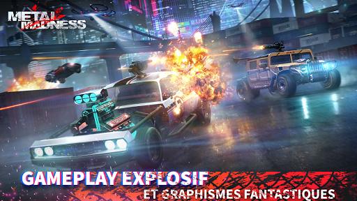 METAL MADNESS PvP: action d'arène de tir en ligne  screenshots 2