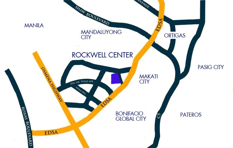 The Manansala, Makati location map