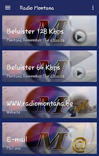 Radio Montana (België)- screenshot thumbnail