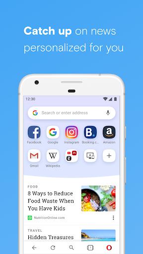 Opera browser beta 56.0.2768.51090 screenshots 2