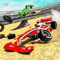 Formula Car Derby Demolition Crash Stunts 2020 icon