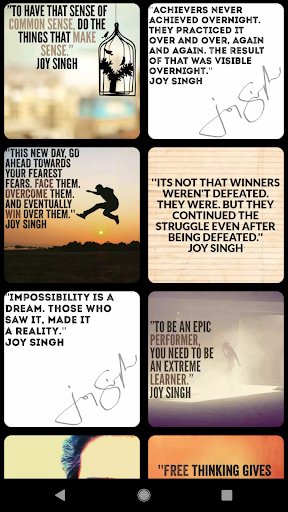 Thought Quotes by Joy Singh ✍?? screenshot 5