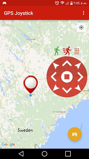 FAKE GPS JOYSTICK  screenshots 1