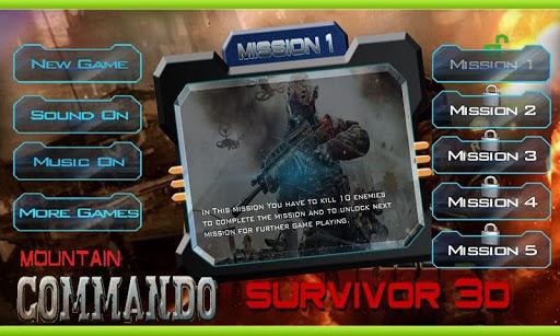 Mountain Commando Assassin 3D