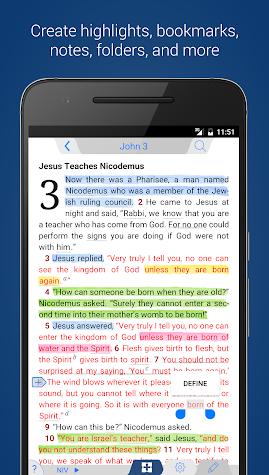 NIV 50th Anniversary Bible Screenshot