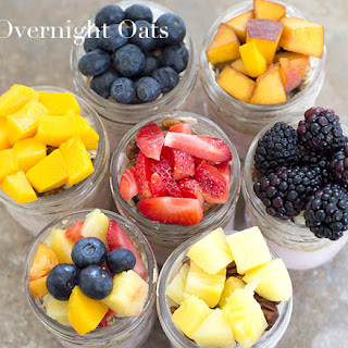 Overnight Oats – 7 Day Breakfast Meal Prep.