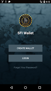 SFI Wallet- screenshot thumbnail