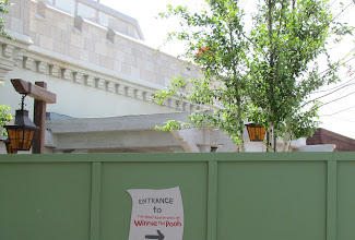 Photo: Work continues on the new Tigger and Pooh meet and greet area