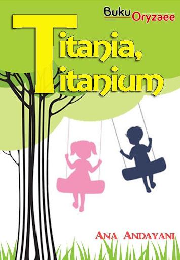 Novel Cinta Titania Titanium