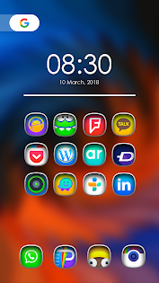 Benfo - Icon Pack app (apk) free download for Android/PC/Windows screenshot
