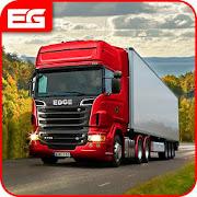 اليورو شاحنة محاكاة حر: حمولة شاحنة سائق لعبه APK