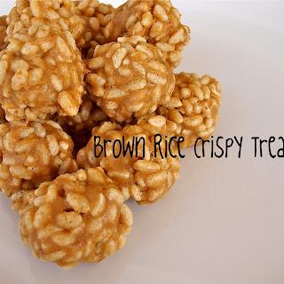 Brown Rice Crispy Treats.