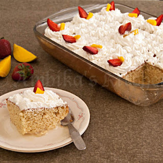 Mexican Tres Leches Cake (Three Milks Cake)