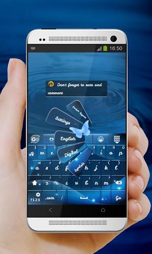 藍蝶 GO Keyboard|玩個人化App免費|玩APPs