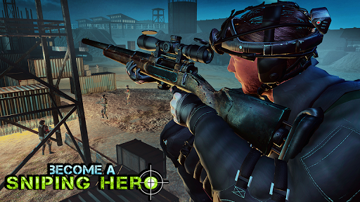 sniper 3d assassin - night vision shooting games screenshot 3