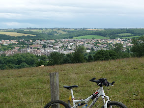 Photo: Thury-Harcourt vu depuis le GR36
