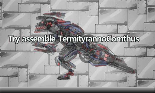 TermityrannoComthus Dino Robot