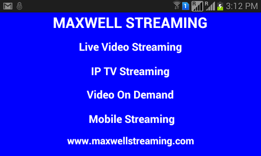 Maxwell Streaming