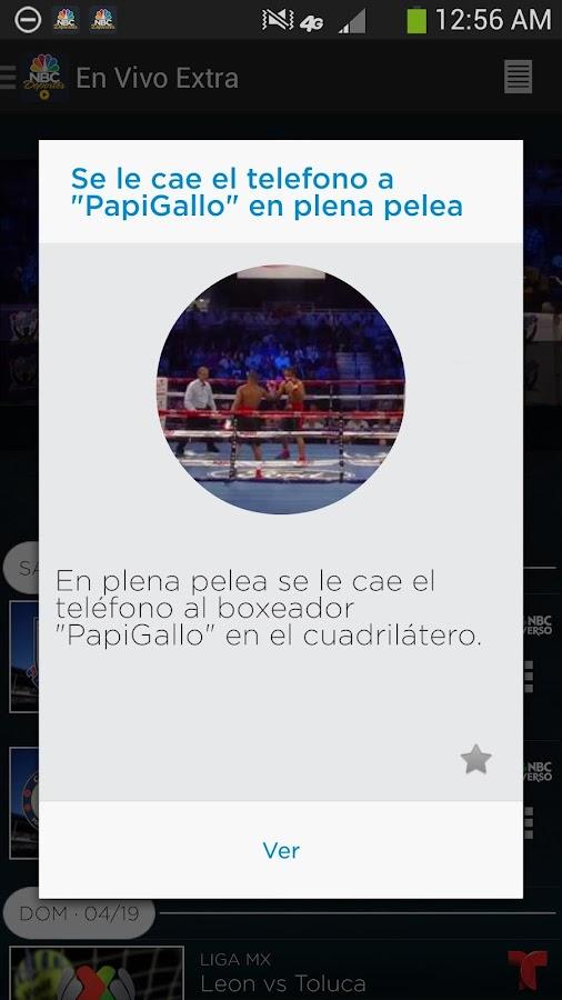 NBC Deportes – En Vivo Extra - screenshot