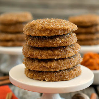 Pumpkin Spice Sugar Cookies.