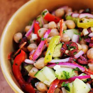 Italian Chickpea Salad.