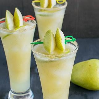 Pear Ginger Mocktail Recipe