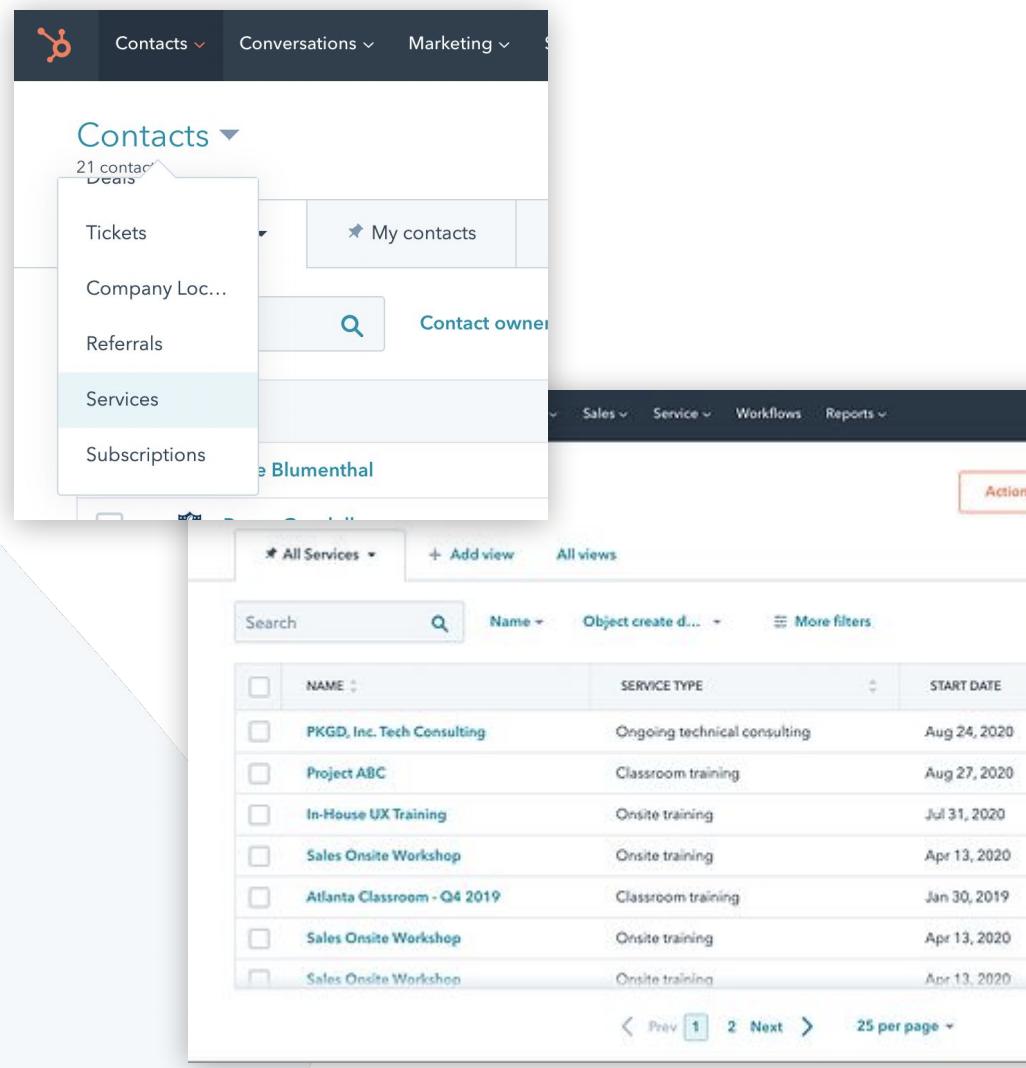 Custom Objects in HubSpot Enterprise