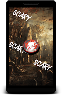 Best Pennywise Scary Button - náhled
