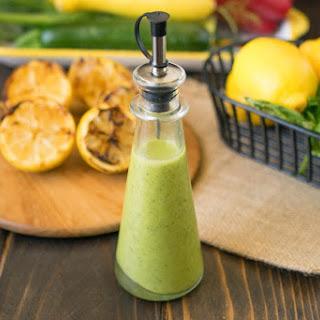 Grilled Lemon & Basil Vinaigrette