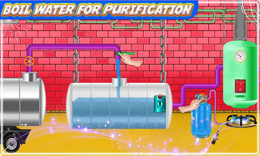 Mineral Water Factory: Pure Water Bottle Games 1.0 screenshots 3