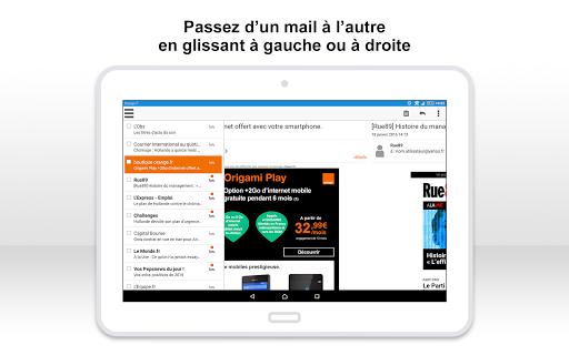 Mail Orange, 1er mail français screenshot 11