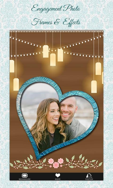 engagement photo frames effects screenshot - Engagement Photo Frame