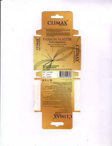 preservativo climax passion master