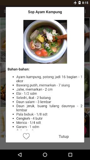 Screenshot 3 Resep Masakan Rumahan