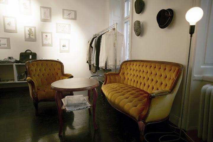 thiết kế shop thời trang nam - thiết kế cửa hàng thời trang nam - thiết kế shop quần áo nam 2