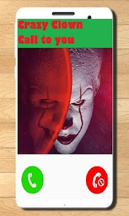 Killer Clown Fake Call and Sms - náhled
