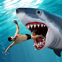 Angry Shark Attack Games icon