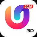 U Launcher 3D: New Launcher 2020, 3d themes icon