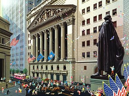 Photo Wall Street