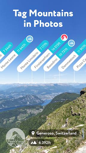 Download PeakVisor - 3D Maps Peaks Identification for Android - PeakVisor -  3D Maps Peaks Identification APK Download - STEPrimo.com