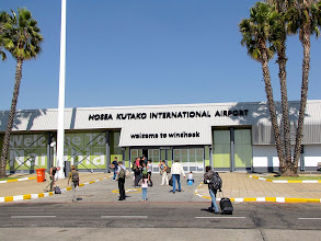 Photo: Hosea Kutako International Airport (40 km from Windhoek)