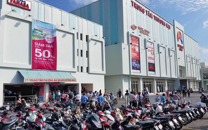 Top 5 trung tâm thương mại Cà Mau