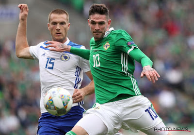 L'Irlande du Nord empêche Lafferty de jouer avec son club