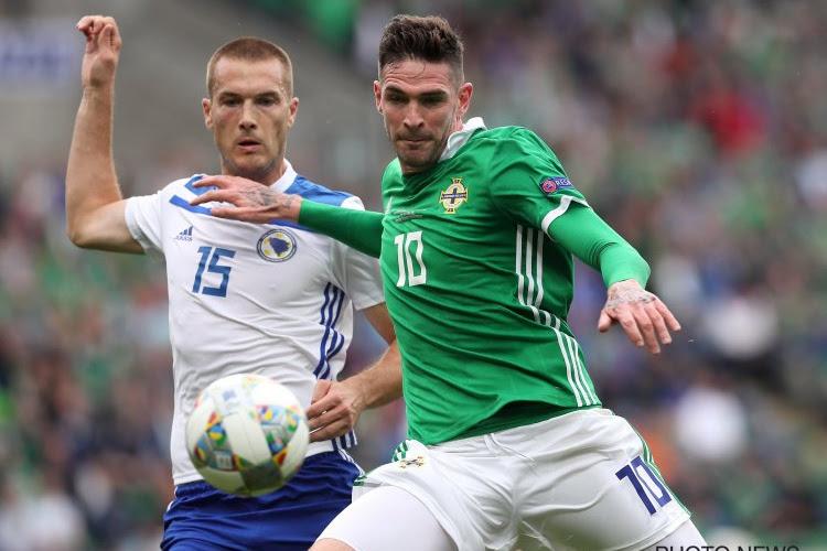 L'Irlande du Nord empêche un joueur de jouer avec son club
