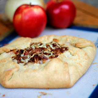 Caramelized Onion Apple Galette.